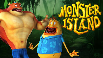 Netflix box art for Monster Island