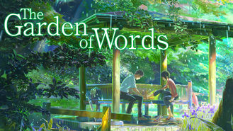 Netflix box art for The Garden of Words